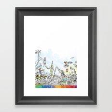you're COLOR - Page 9 Framed Art Print