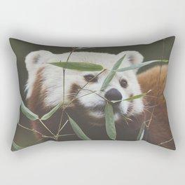 Red. Rectangular Pillow