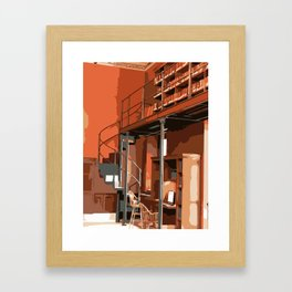 Boston Public Library, Boston, MA Framed Art Print