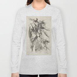 Anatomical study of three figures, 17th Century Long Sleeve T-shirt