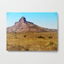 Big Bend Mountain Metal Print