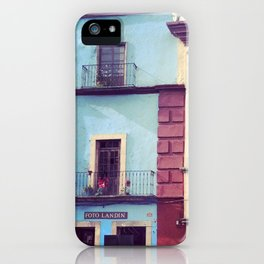 Mexican houses iPhone Case