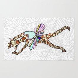 Giraffe Ballerina Tutu Rug