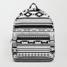 Boho Aztec Inspired Pattern Backpack
