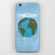 Now Serving 7 Billion iPhone & iPod Skin
