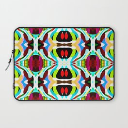 Red Focus - Painting Within The Lines Collection Laptop Sleeve