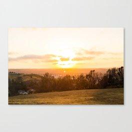 The Secret Spot Canvas Print