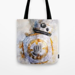 BB8! my little droid from wars star Tote Bag