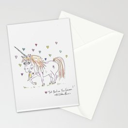 Get  Back O Your Unicorn Stationery Cards