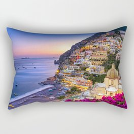 Positano Amalfi Coast Rectangular Pillow