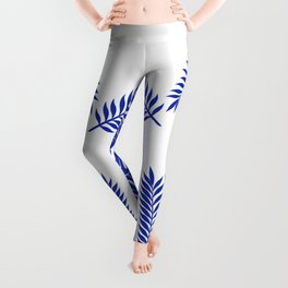 Paradise in cobalt Leggings