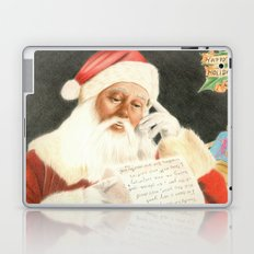Letter to Santa Claus Laptop & iPad Skin