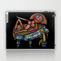 Every morning Jack plays the piano! Laptop & iPad Skin