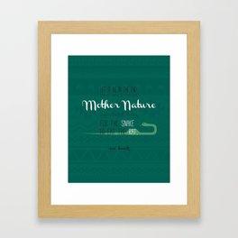 Sue Hawk Speech Art Framed Art Print