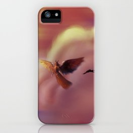 Into the Headwinds iPhone Case