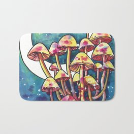 Mushroom Patch Bath Mat