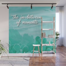 The In-Between Of Moments Wall Mural