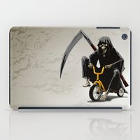 death iPad Cases featuring Death by Antracit