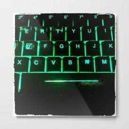 Raid Keys Metal Print