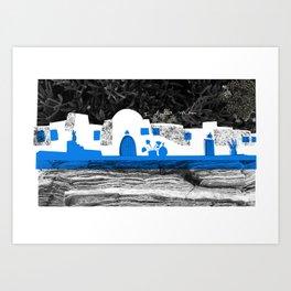 Cyclades 2 Art Print