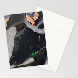 Under The Table Stationery Cards