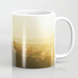 Bagan Pagoda Sunrise Coffee Mug