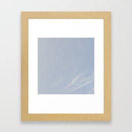morning cresent Framed Art Print