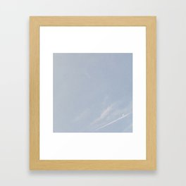morning cresent Framed Art Print