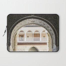 Portal to inner patio - Alcazar of Seville Laptop Sleeve