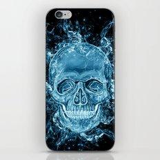 ghost skull iPhone & iPod Skin