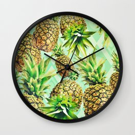 Pining Away Wall Clock