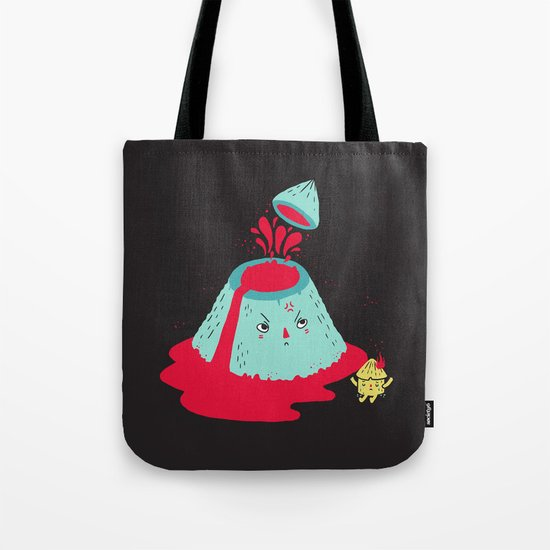 Watch Your Temper Tote Bag