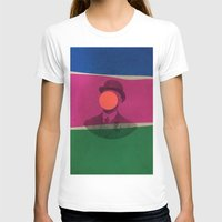 magritte T-shirts featuring Magritte by Naomi Vona