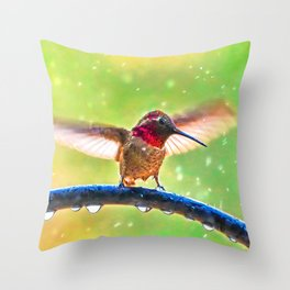 Shaking it Off Throw Pillow