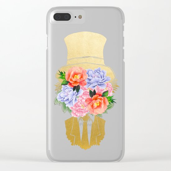 The Optimist #society6 #decor #buyart Clear iPhone Case