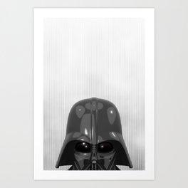 Darth Vader Bottom Art Print