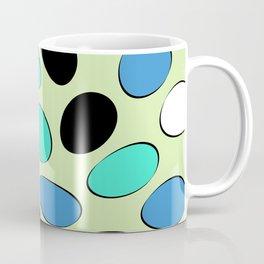 Polka Dotts Colorful Pattern Coffee Mug