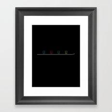The Shotski Framed Art Print