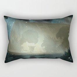 A vulture's nightmare Rectangular Pillow