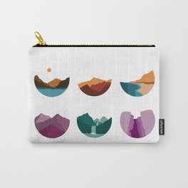 Shapes of the World Carry-All Pouch