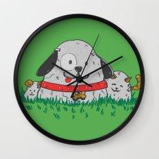 Pet Rocks Wall Clock