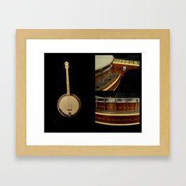 Concertone Tenor Banjo Circa 1936 Framed Art Print