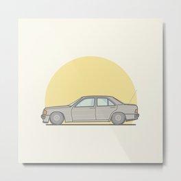 Mercedes-Benz 190E 2.5 Cosworth vector illustration Metal Print