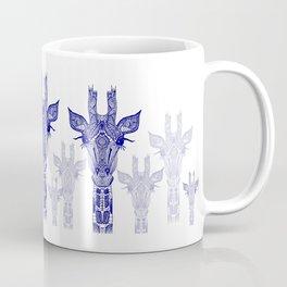 GIRAFFE BLUE Coffee Mug