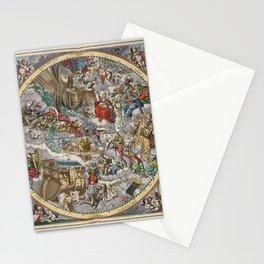 Keller's Harmonia Macrocosmica II 1661 Stationery Cards