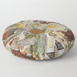 Tarot Cards Floor Pillow