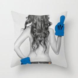 Attitude with Class Throw Pillow