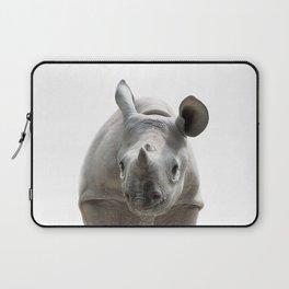 Baby Rhino, Baby Animals Art Print By Synplus Laptop Sleeve