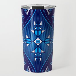 buffalo Gathering blue Travel Mug