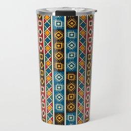 Colorful ethno design Travel Mug